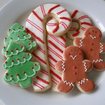 weiche Weihnachtsplätzchen