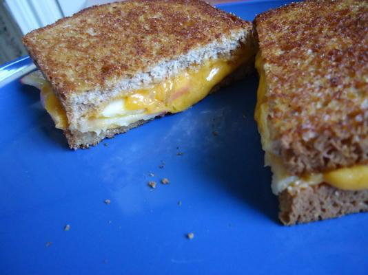 Apfel gegrilltes Käsesandwich