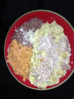 Chilaquiles mit Hühnchen