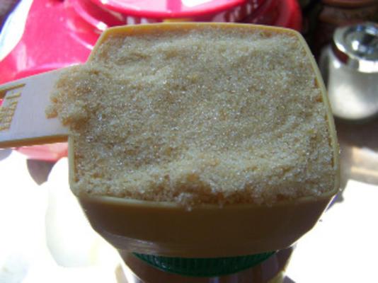 brauner Zucker, hausgemacht