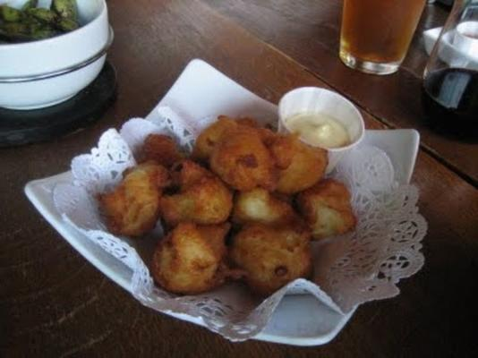 frittierte Kartoffelpüree