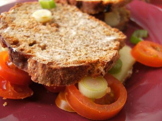 gegrillte Tomaten-Käse-Sandwiches