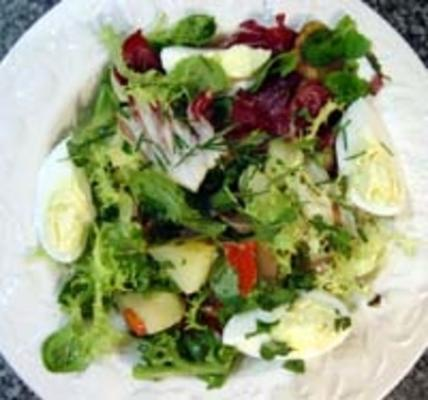 herzhafter salat - a la francaise