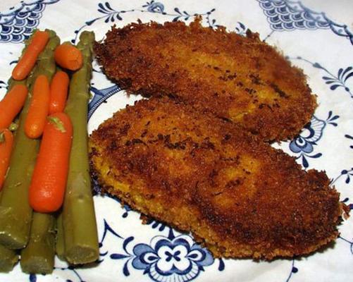 Curry-Karotten-Hummus-Krabbenkuchen