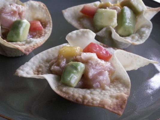 Ceviche mit Ahi-Thunfisch