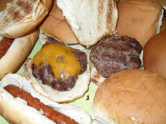 das perfekte Sommer-Hamburger-Rezept