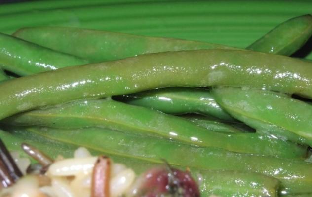Buca di Beppo grüne Bohnen
