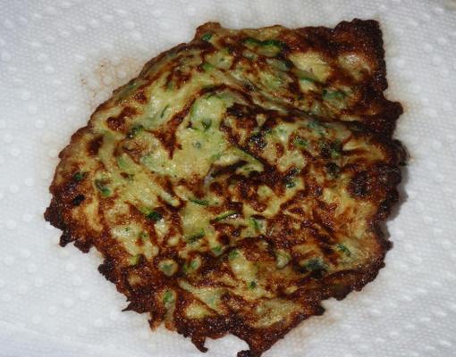 Gemüse Latkes