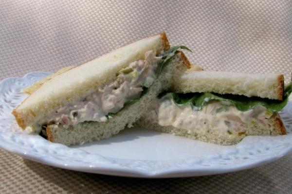 gerade ein anderes Thunfischsalatsandwich