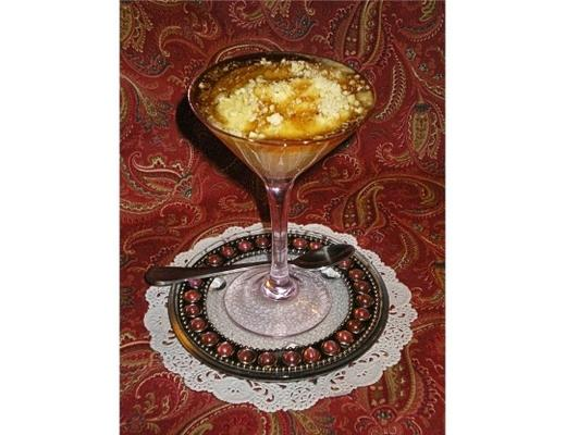 gefrorene Mascarpone und Kaffee soufflandeacute;