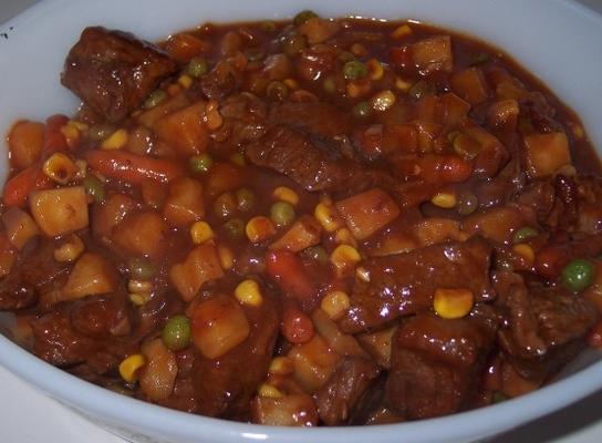 15 Minuten Rindfleischeintopf
