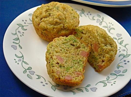 Brokkoli-Quiche-Muffins