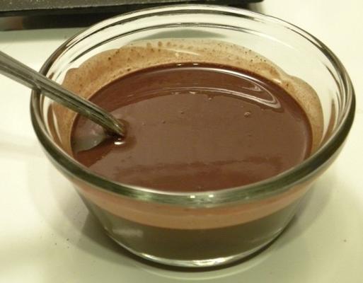 Stevia-Schokoladensirup