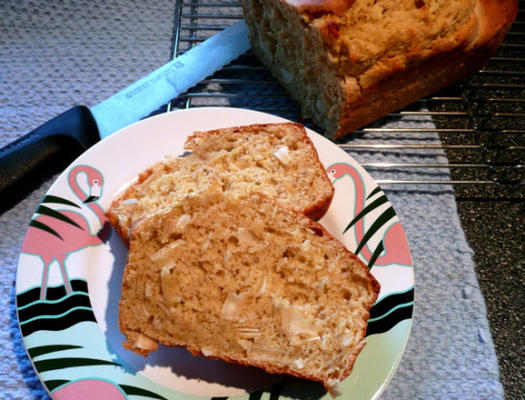 Schnelles Brot der karibischen Kokosnuss