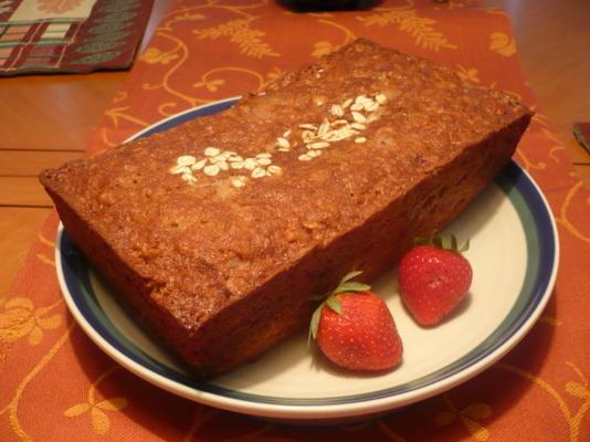 glutenfreies Erdbeerbananenbrot