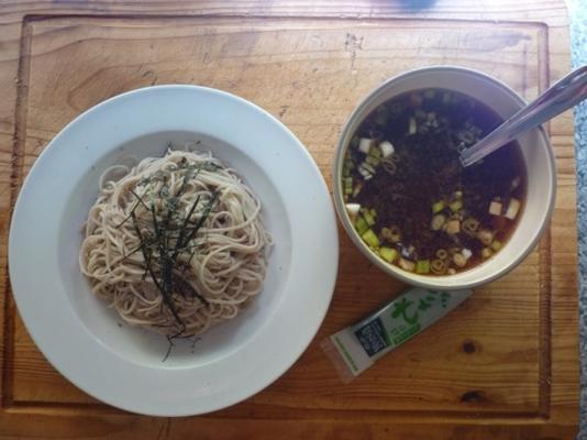 Zaru Soba - gekühlte japanische Nudeln