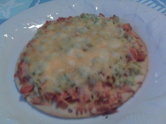 Pizza mit Büffelhähnchen (einzeln)