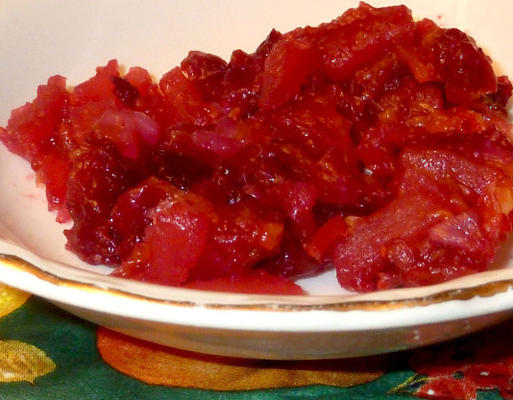 Easy Cranberry Relish (Mikrowelle)