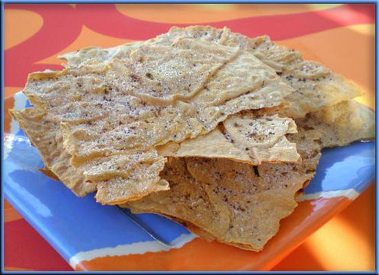 Sumach-Limetten-Chips