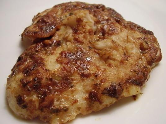Dijon Estragon gebackene Schellfisch