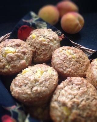 Pfirsich-Joghurt-Muffins