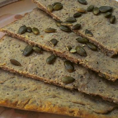 einfaches glutenfreies Buchweizenfladenbrot