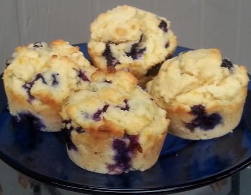 Blaubeer-Scone-Muffins
