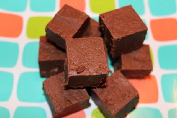 milchfreier Schokoladenfondant