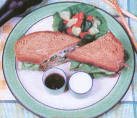 knuspriges gesundes Sandwich