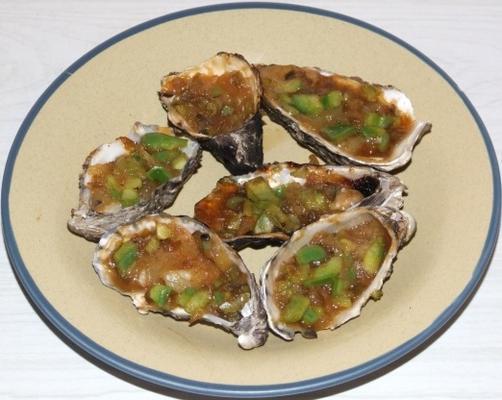 süß-saure Austern