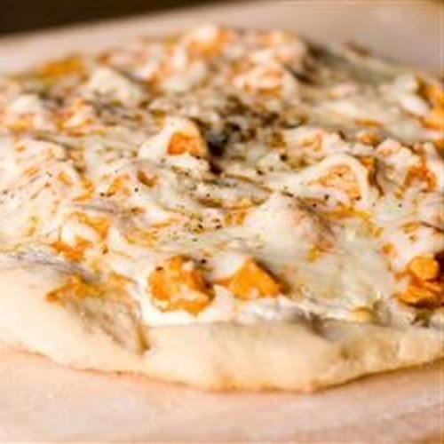 Büffelart-Hühnerpizza