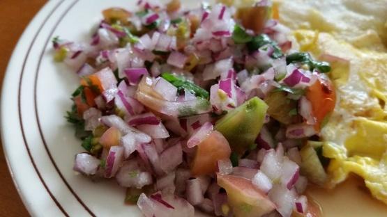 Chilenische Zwiebelgeschmack