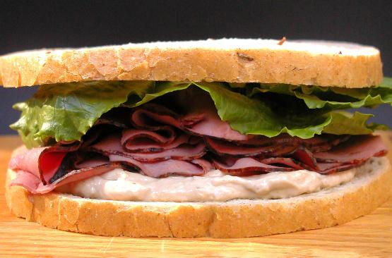 Der meister der roastbeef sandwiches